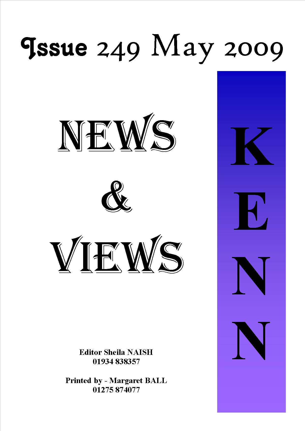May 2009 cover
